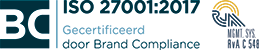 ISO 27001 certificering logo e-mail